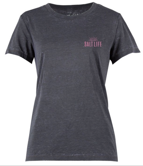 Salt Life Women's Vacation State Boyfriend Tee T-Shirt