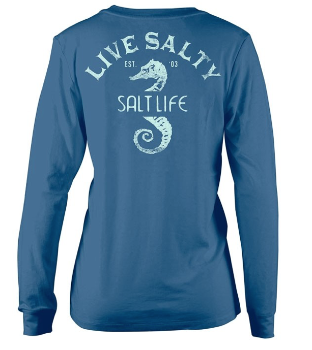 Salt Life Women's Majestic Seas Long Sleeve Tee T-Shirt