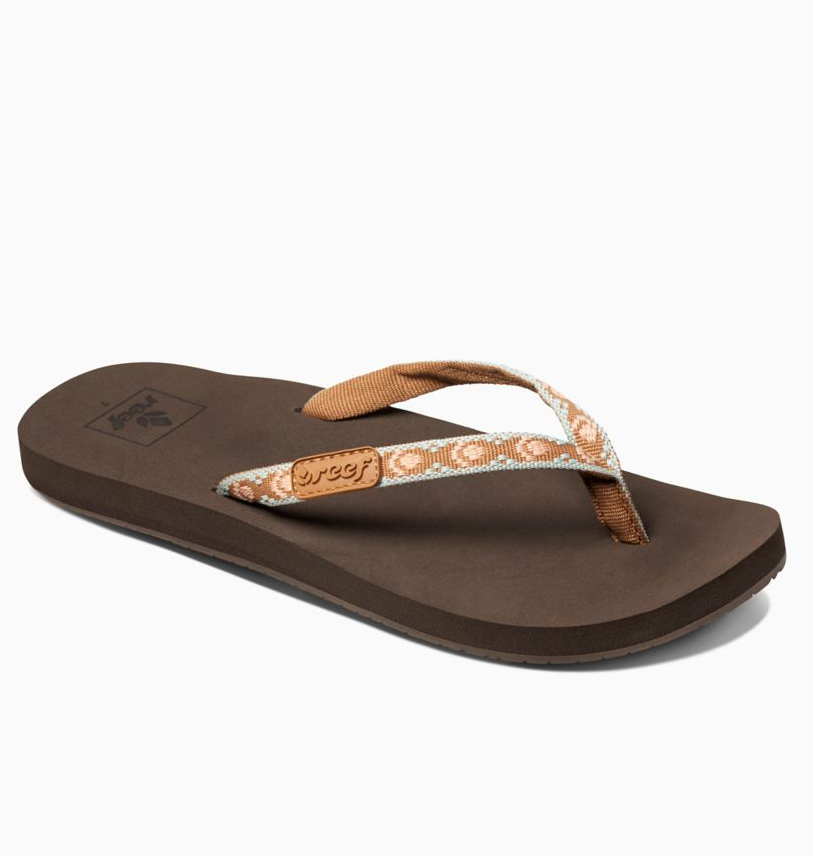 9f77643a7143 REEF Women s GINGER Sandals Flip Flops - Wabasso Beach   Surf Zone