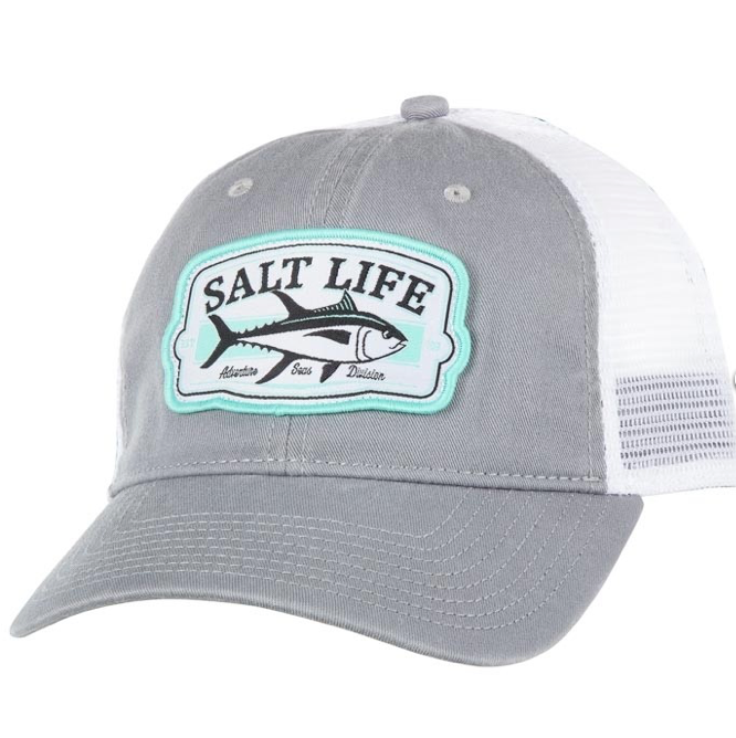 Salt Life Men's Tuna Badge Hat Mesh Snapback One Size Fits Most