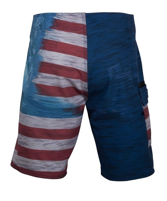 Salt Life Men's Ameriseas Performance Swim Boardshorts Shorts