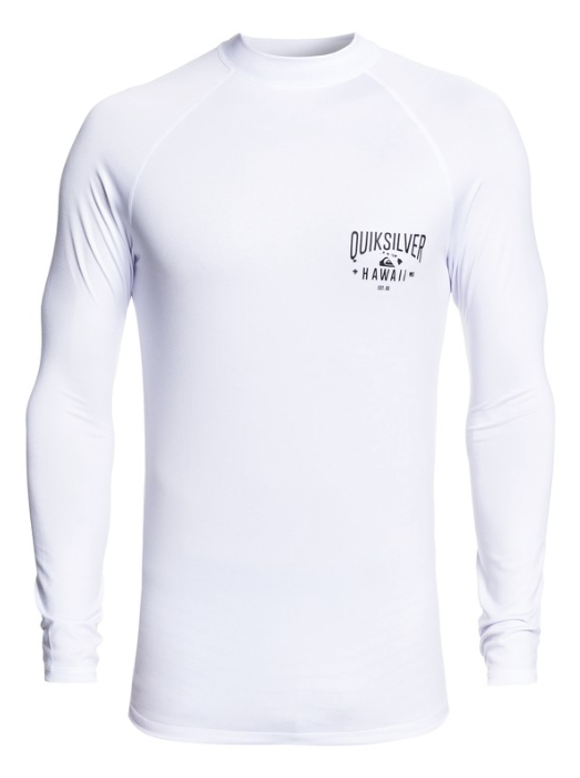 Quiksilver Men's Kona Way Short Sleeve UPF 50 Rashguard Surf Tee