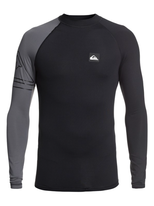 Quiksilver Men's Active Long Sleeve UPF 50 Rash guard