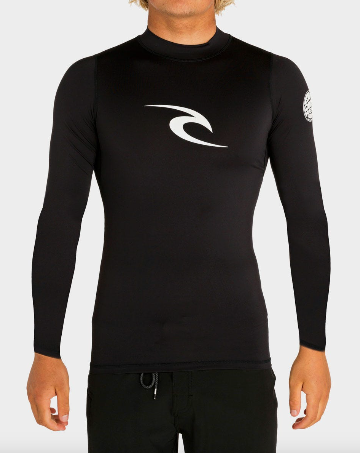 Rip Curl Men's Corpo Long Sleeve Rash Guard Swim Top