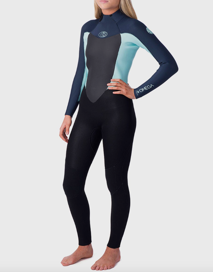 Rip Curl Women's Omega 3/2 Full Wetsuit Back Zip