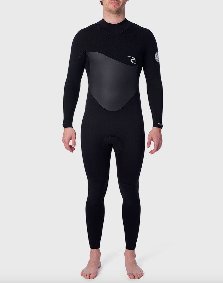 Rip Curl Men's Omega 3/2 Full Wetsuit Back Zip