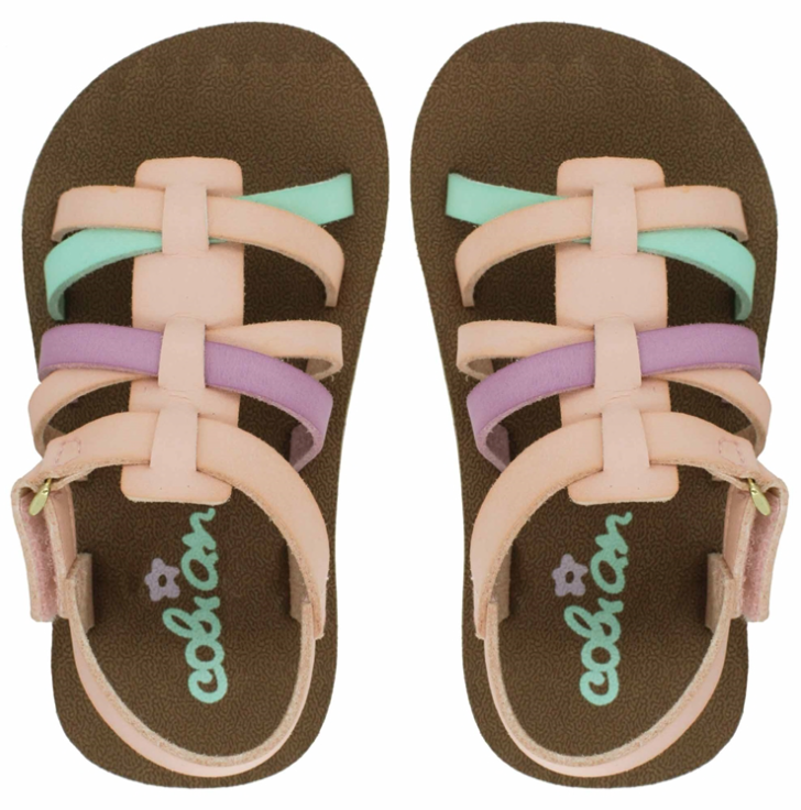 Cobian Infant Girls' Sophia Sandals Flip Flops