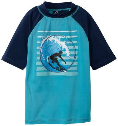 Kid's Short Sleeve Rashguard