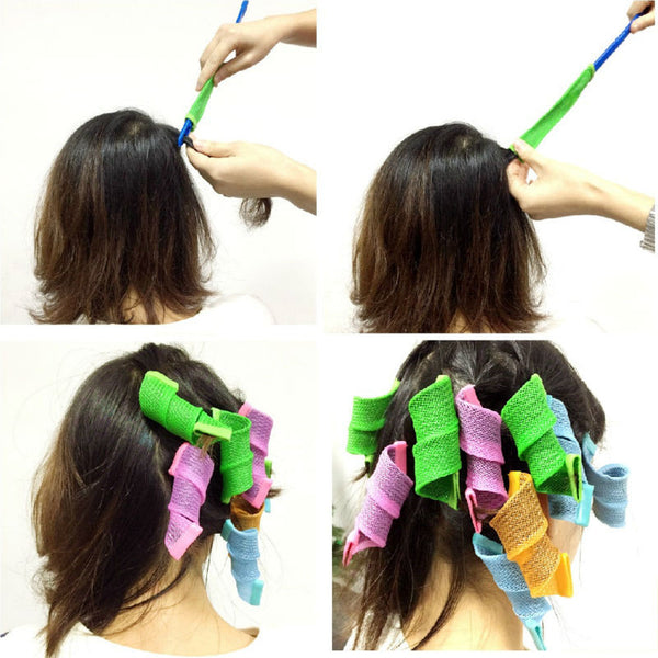 BOMITA'S NO HEAT HAIR CURLER