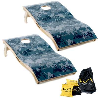 Warphole® Camouflage Premium Set - 4' x 2' Tournament Size