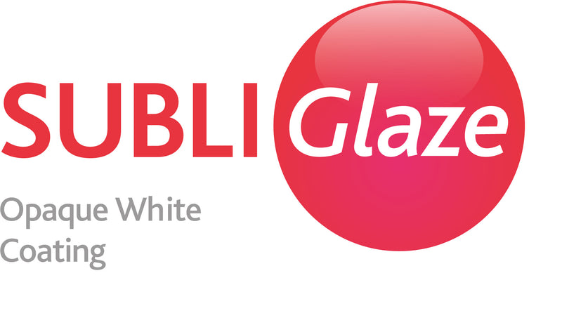 Subli Glaze White Primer For Dark Surfaces Industrial Pack Size.