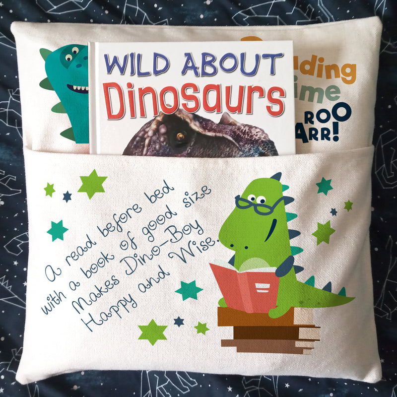 Cushion With Book Slot 45 x 45 cm