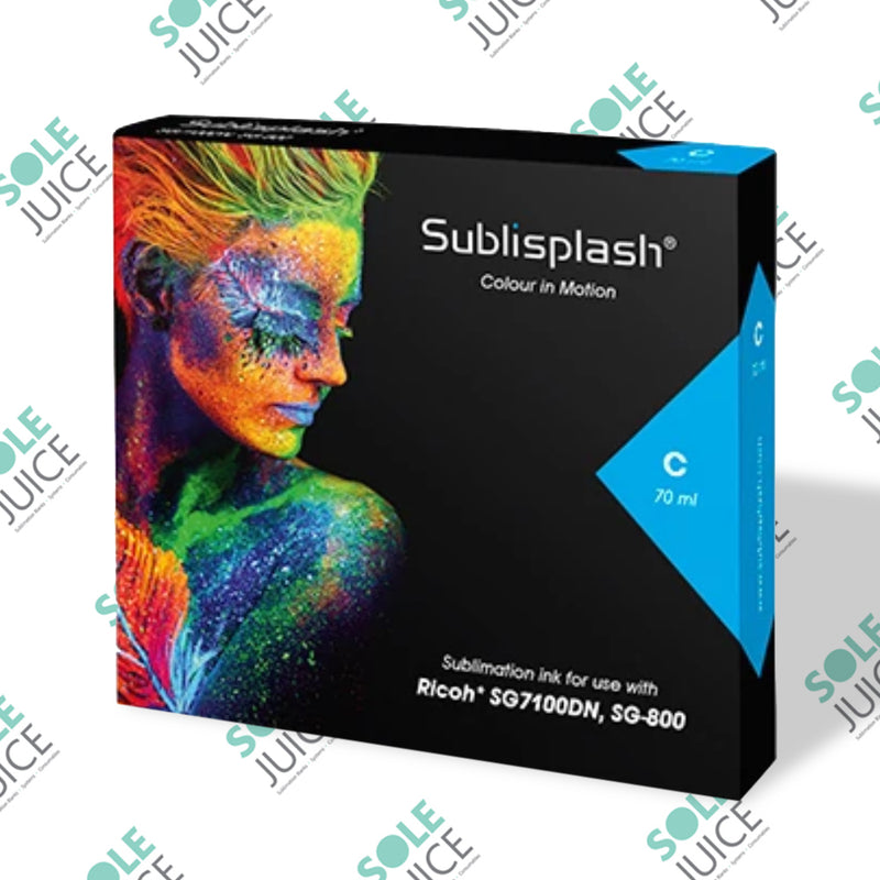 Sublisplash for Ricoh SG 7100DN and SG 800 Cyan High Capacity