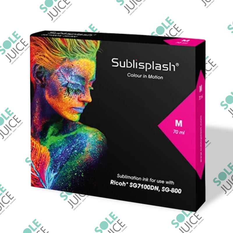 Sublisplash for Ricoh SG 7100DN and SG 800 Magenta High Capacity