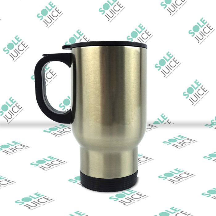 Stainless Steel Travel Mug Silver