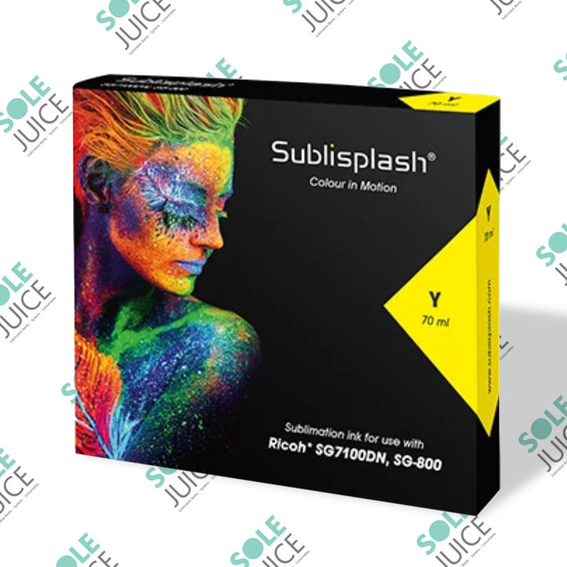 Sublisplash for Ricoh SG 7100DN and SG 800 Yellow High Capacity