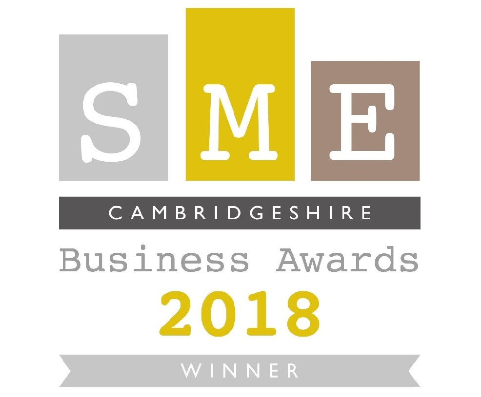 SME Cambridgeshire Website of the Year Winner 2018
