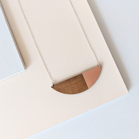 The Alexandra - Copper Necklace by form.london on OOSTOR.com