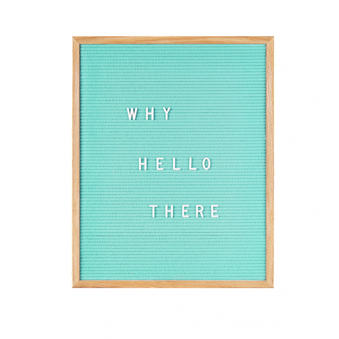 Large Felt Letter Board by gingersnap on OOSTOR.com