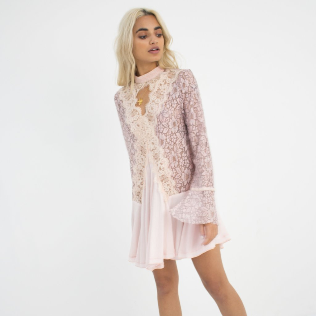 Rosa Tunic Lace Dress by Wired Angel Ltd on OOSTOR.com