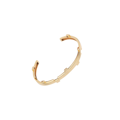 Legoo Bracelet Gold by Afew Jewels on OOSTOR.com