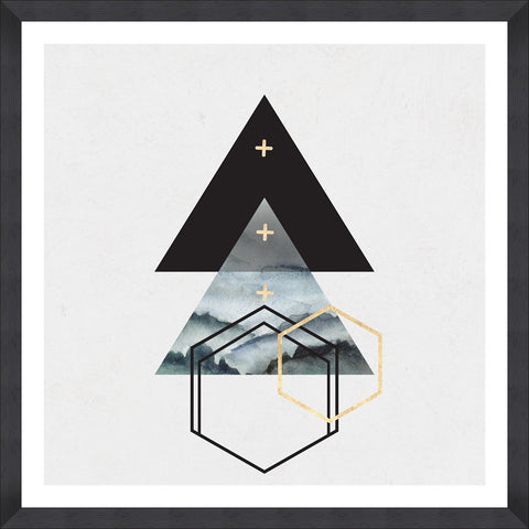 Triangles I Art Print by Mind The Gap