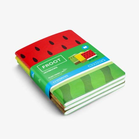 Froot Notebooks by Mustard Gifts on OOSTOR.com
