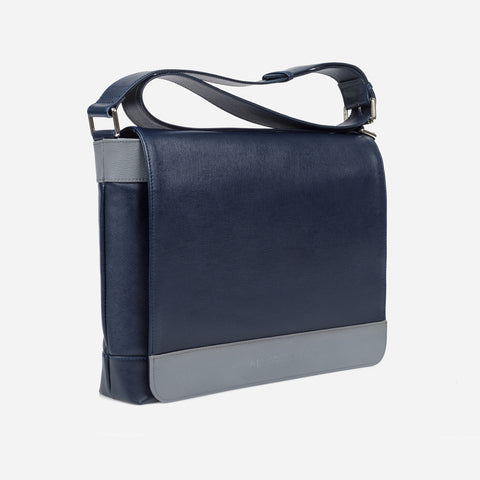 _One Messenger Bag - Grey by Alexquisite on OOSTOR.com