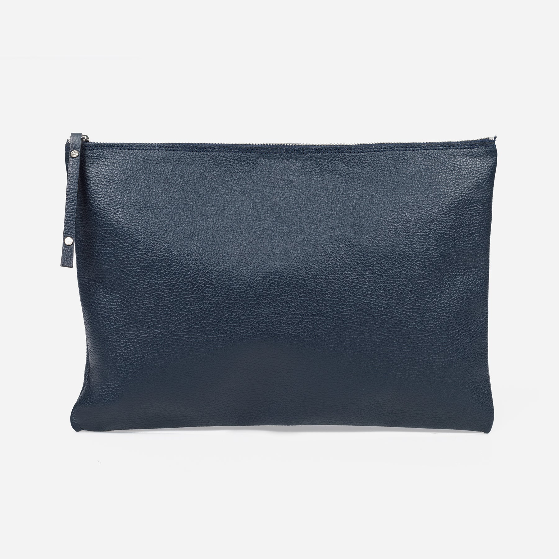 Pure Leather Pouch Bag - Midnight by Alexquisite on OOSTOR.com