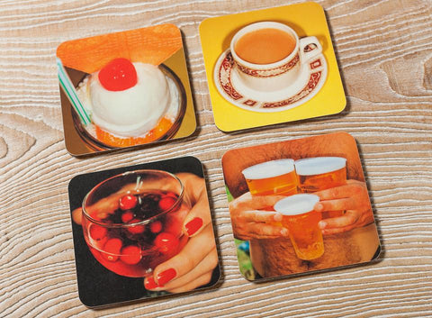 Set of 4 Martin Parr coasters