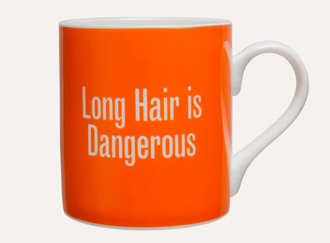 Wellcome Collection Good Advice Mug Orange