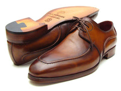 Paul Parkman Men's Brown Derby Dress Shoes by PAUL PARKMAN on OOSTOR.com