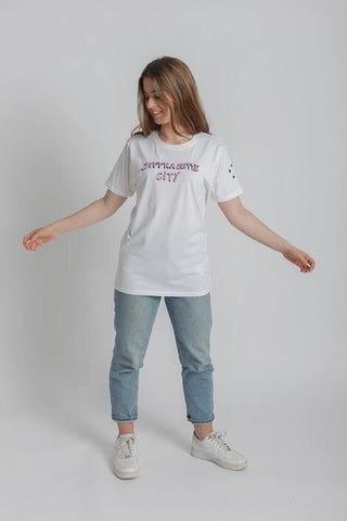 White Bella Freud Suffragette City T-Shirt