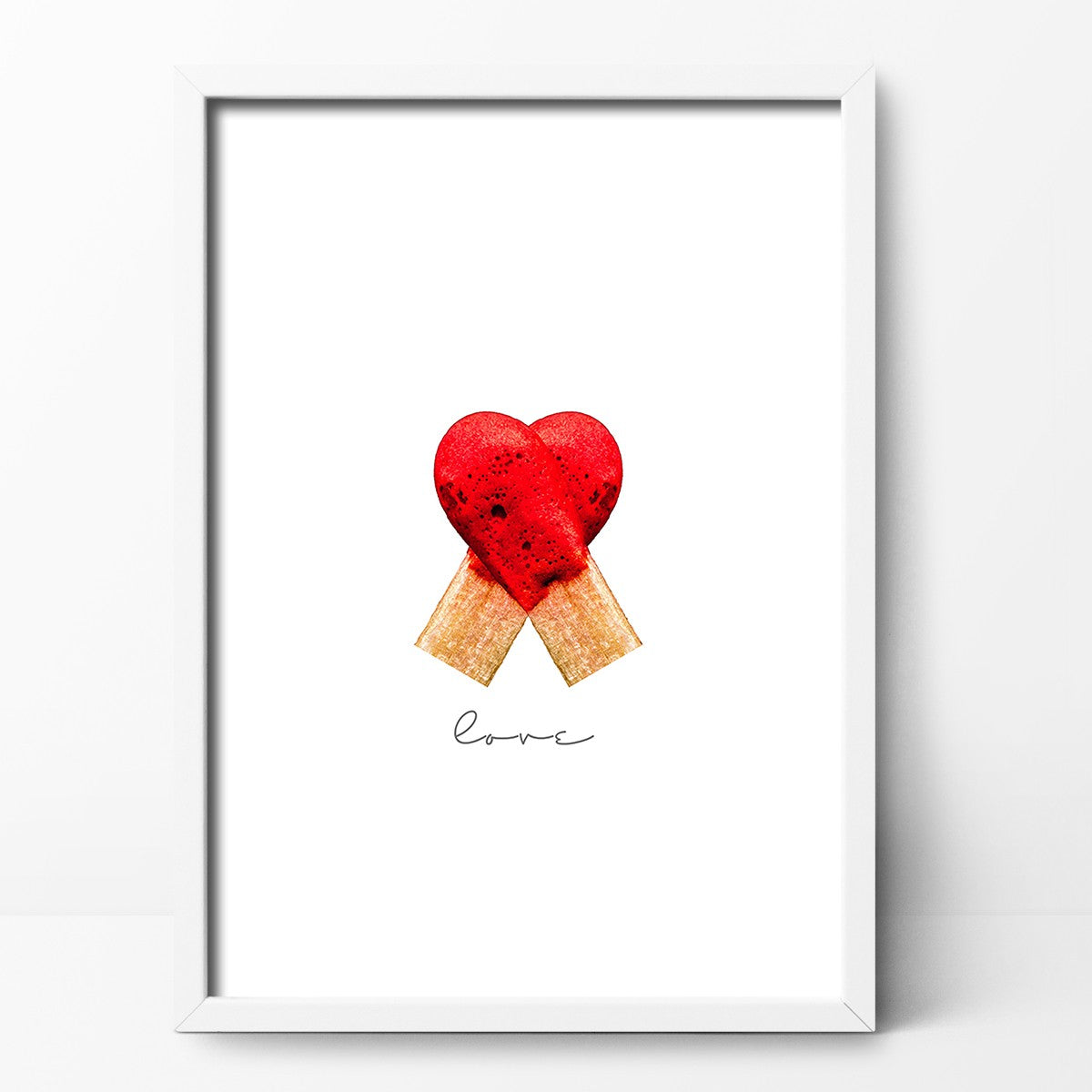 Hot Love Print by Action Zebra on OOSTOR.com