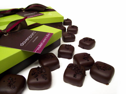 Mulled Wine Christmas truffle box by Davenports on OOSTOR.com