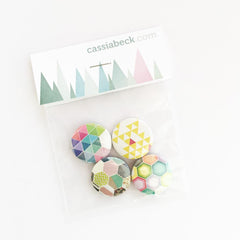Badge Set - Play Time by Cassia Beck on OOSTOR.com