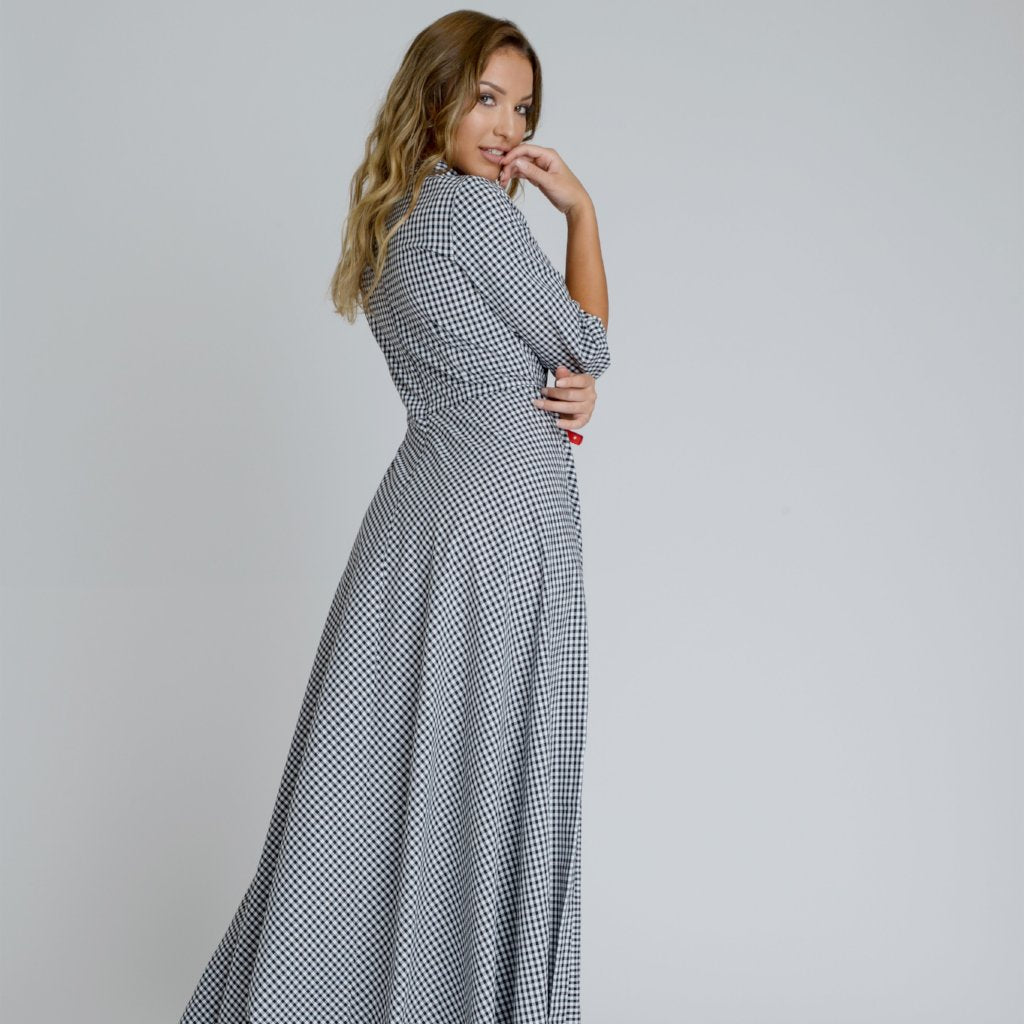 Amber Maxi Dress by Zalinah White on OOSTOR.com