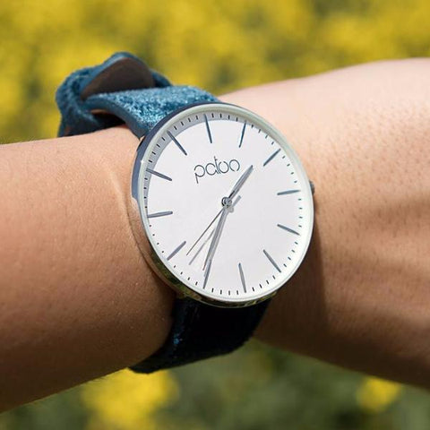 Sapphire Velvet Watch by Patoo Watches on OOSTOR.com
