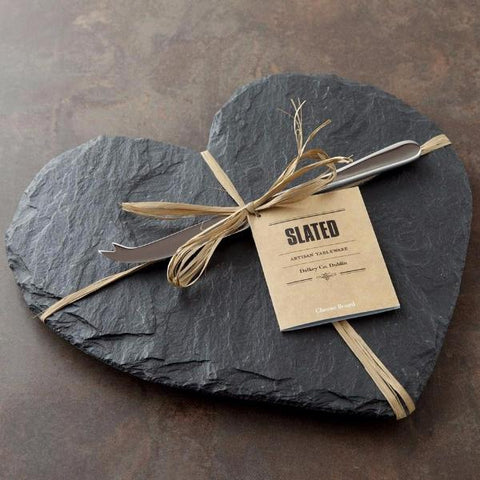 Heart Slate Cheeseboard by Slated on OOSTOR.com