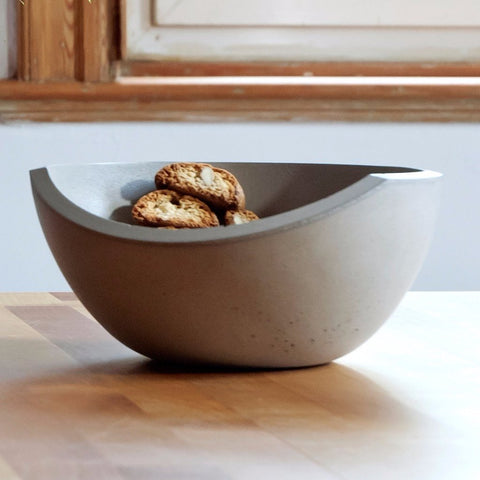 Seesaw Small Bowl by IntoConcrete Inc on OOSTOR.com