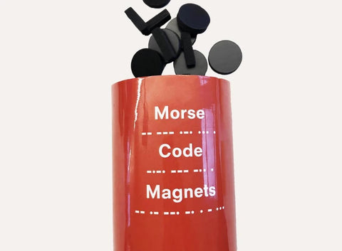 Wellcome Collection Morse Code Magnets