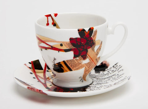Yinka Shonibare Cup and Saucer