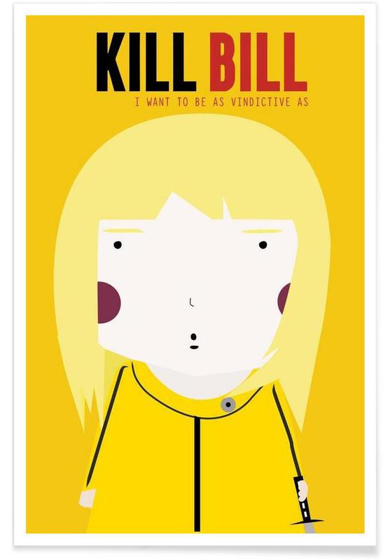 Little Kill Bill Print by Little World on OOSTOR.com