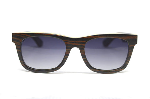 Wood Sustainable Eco Sunglasses with Polarised Lenses by Madia & Matilda on OOSTOR.com