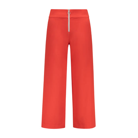 Desire Trousers - Tomato Red by Blonde Gone Rogue on OOSTOR.com