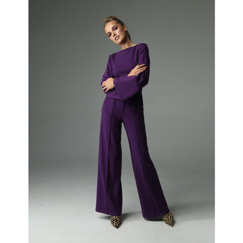 Line Pants - Purple by Madnezz