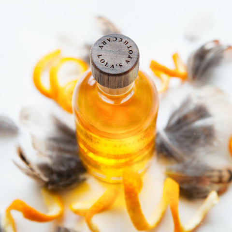 Orange Patisserie Warming Bath & Shower Oil by Madia & Matilda on OOSTOR.com