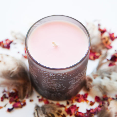 Delicate Romance Naturally Fragrant Candle by Madia & Matilda on OOSTOR.com