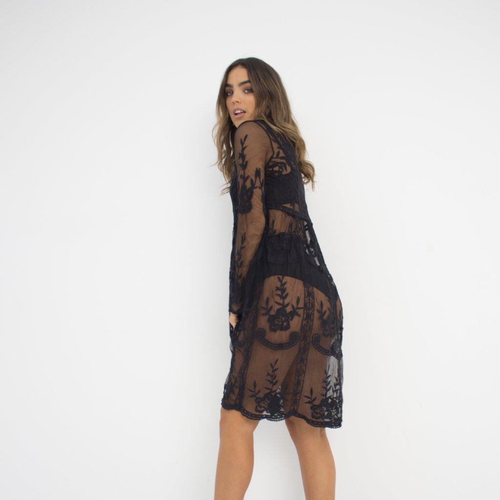 Black Lies Dress by Wired Angel Ltd on OOSTOR.com