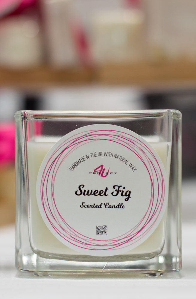 Perfect4U Handmade Sweet Fig Scented Candle